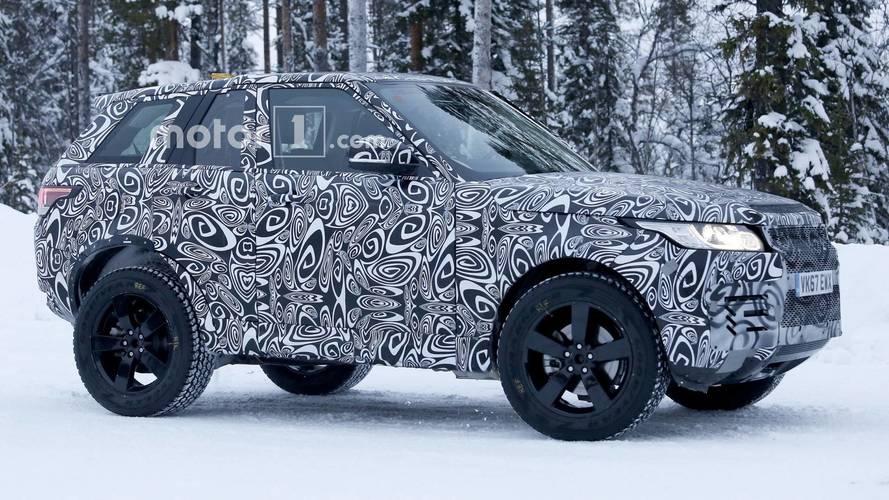 Photos espion - Le nouveau Land Rover Defender en promenade
