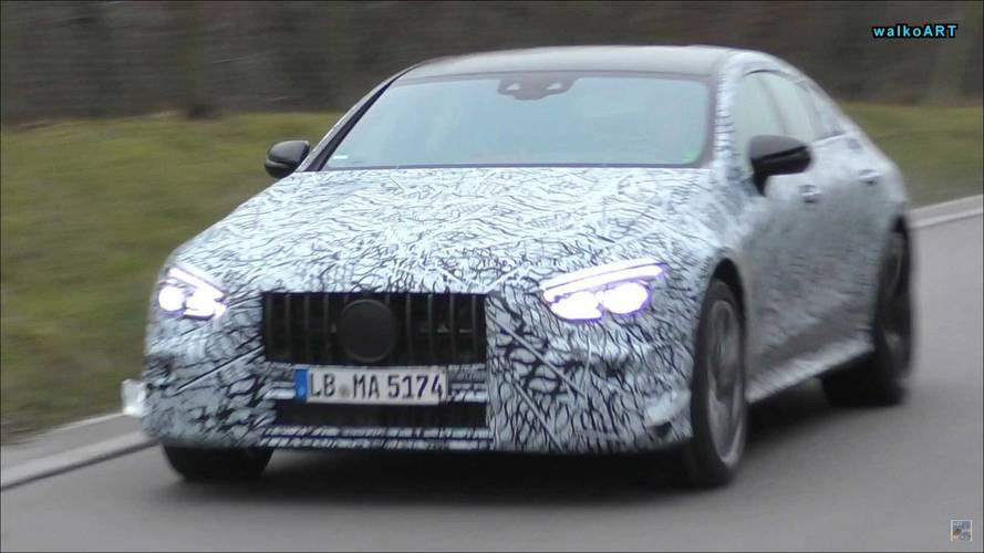 Mercedes-AMG GT berline spyshots