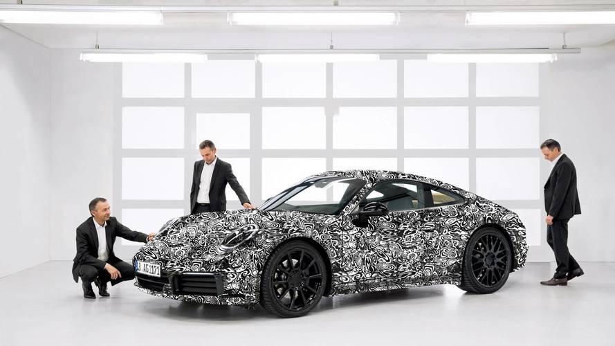 2019 Porsche 911 teaser officiel