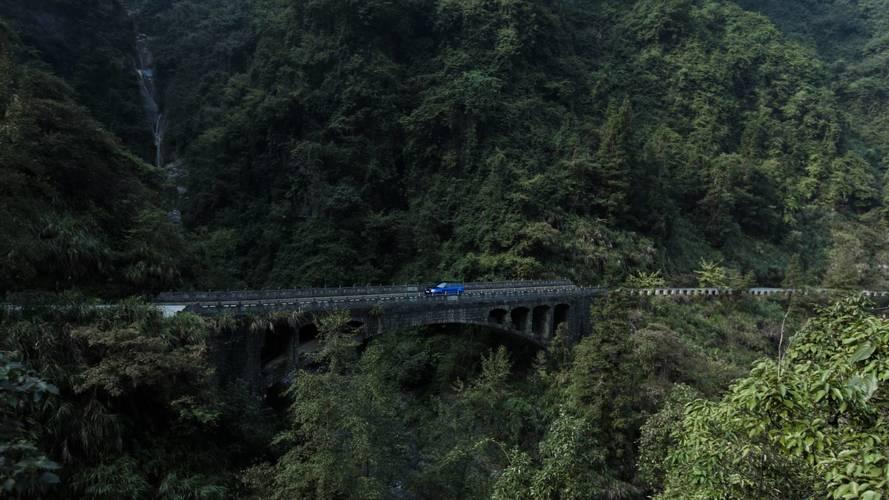 Range Rover Sport SVR Tianmen dünya rekoru