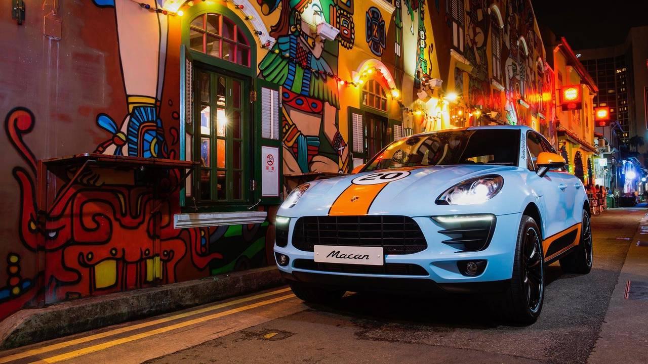 Porsche Macan Gulf