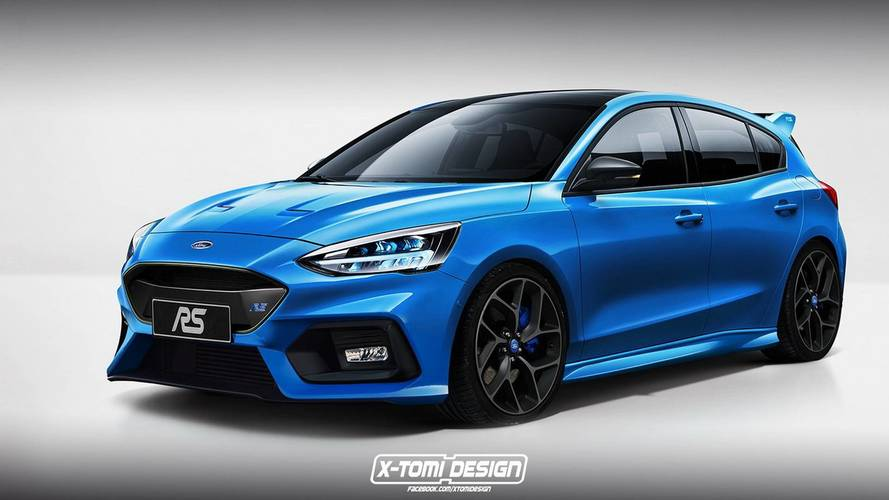 Renders Ford Focus ST y RS