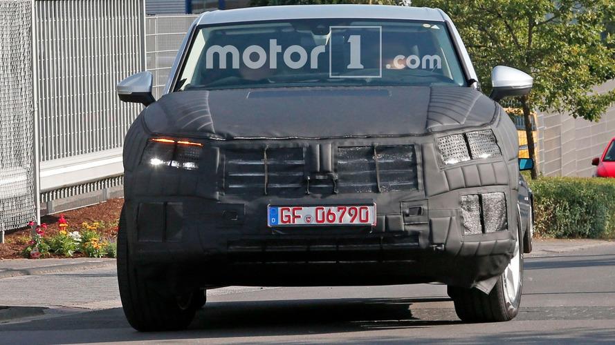 Volkswagen Touareg Photos espion