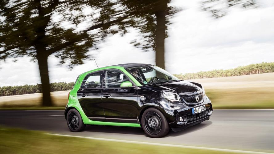 smart forfour electric drive 2017, precios para España