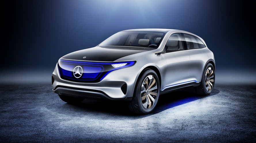 Mercedes Generation EQ konsepti 402 bg güce sahip