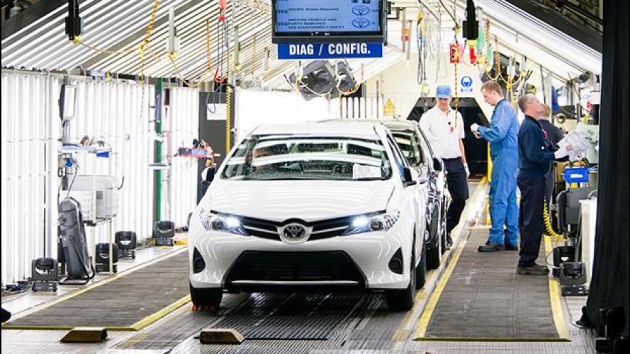 Nuova Toyota Auris: parte la produzione a Burnaston