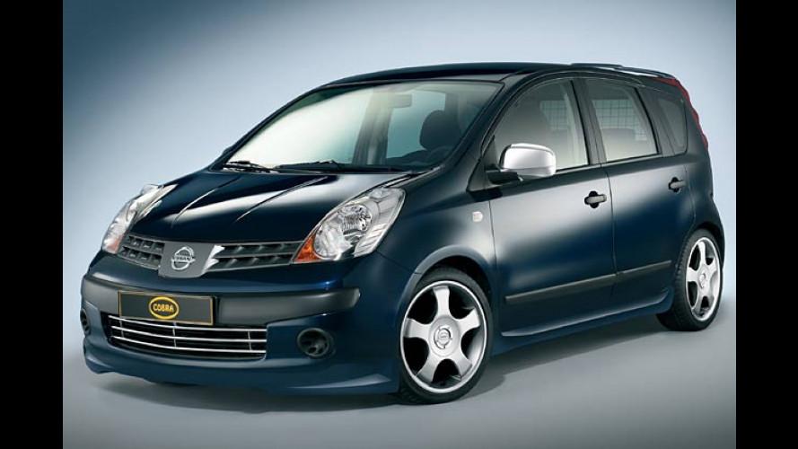 Getunter Nissan: Kleiner Note sieht aus wie ein Großer