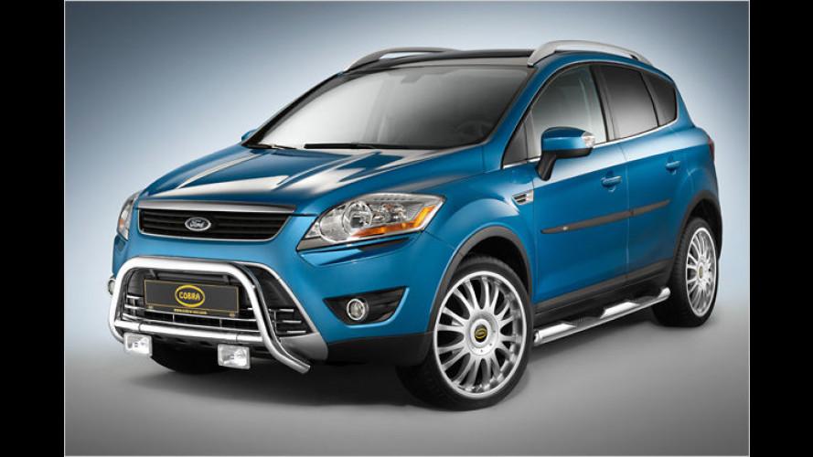 Cobra: Edel gestählte Offroad-Optik für den neuen Ford Kuga