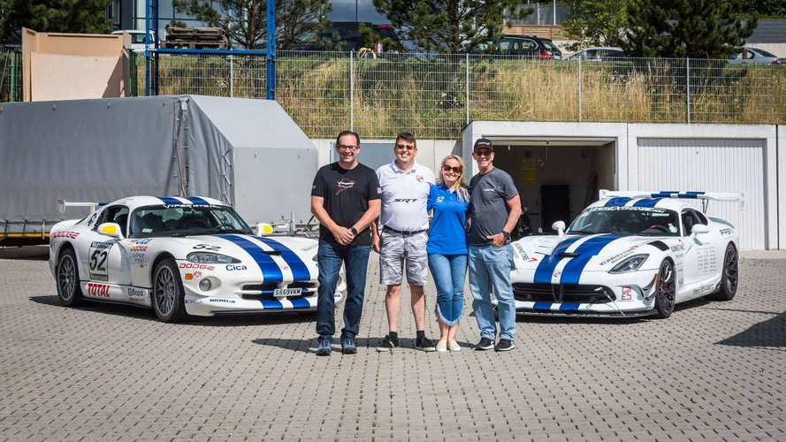 Crowdfunded Dodge Vipers Attempting To Reclaim Nurburgring Record