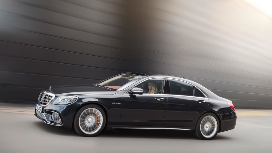 New Mercedes S-Class Drives Itself Off The Production Line