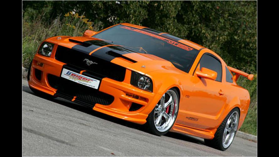 Ford Mustang: Noch mehr Power für den US-Hengst