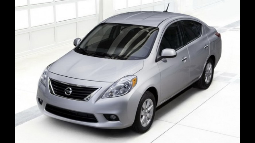 México, agosto: Nissan Versa garante lugar no pódio