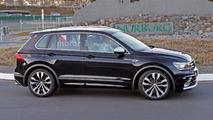 VW Tiguan R spy photos