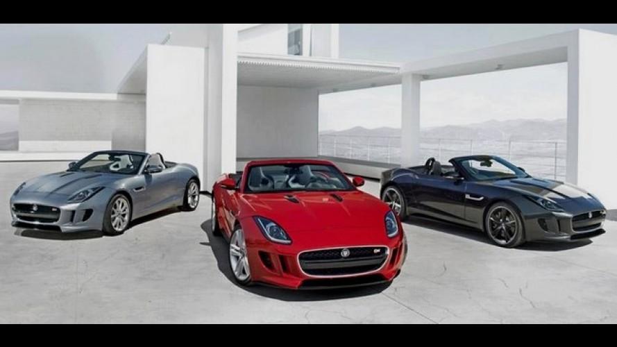 Jaguar F-Type 2013: Primeira foto da família