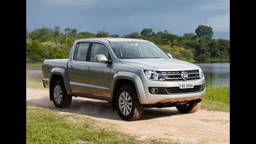 Volkswagen lança linha 2013 da picape Amarok com novos itens de série e opcionais