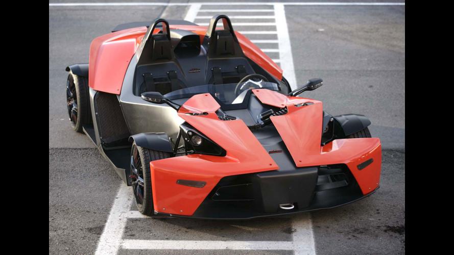 KTM: dopo X-Bow anche un SUV e una city car