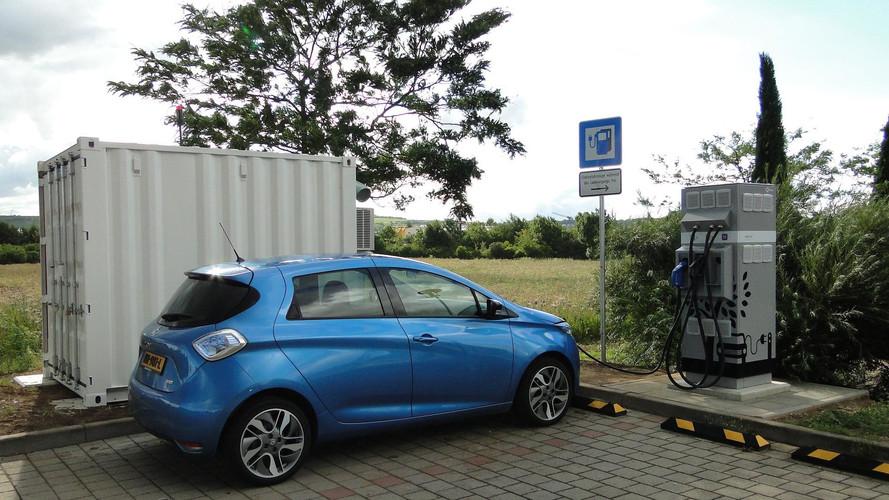 Des recharges sur l'autoroute, grâce aux batteries de seconde vie