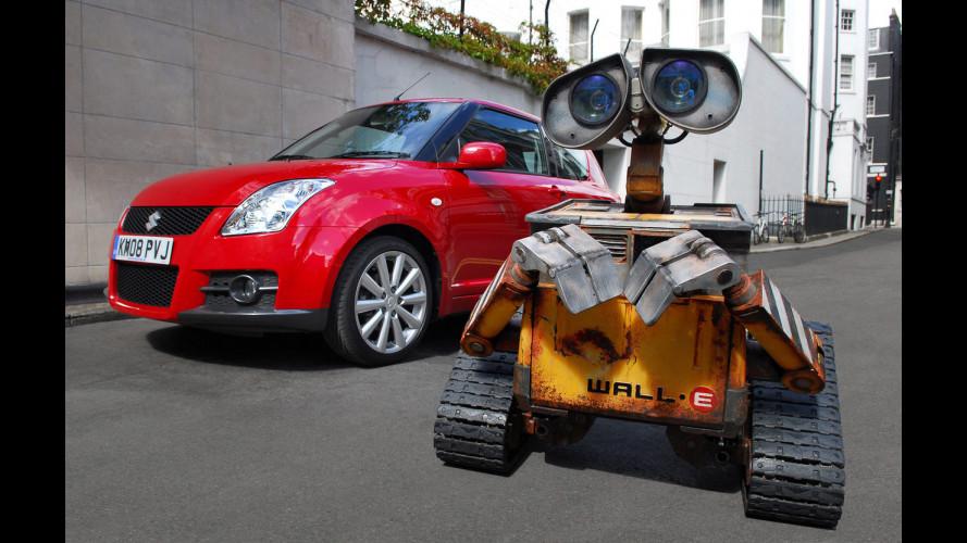 Suzuki sponsor di WALL•E in Inghilterra