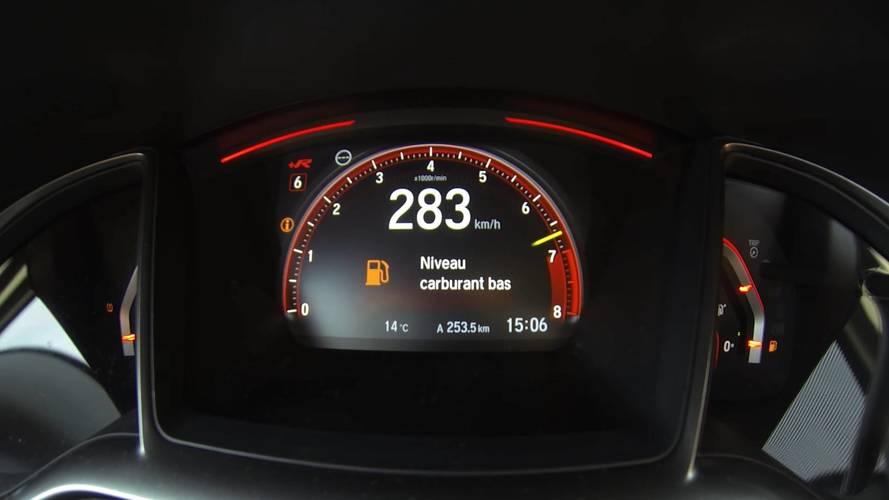 Így gyorsul 0-ról 283 km/órára az új Honda Civic Type R