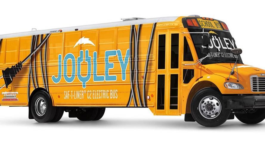 Daimler présente son bus scolaire électrique