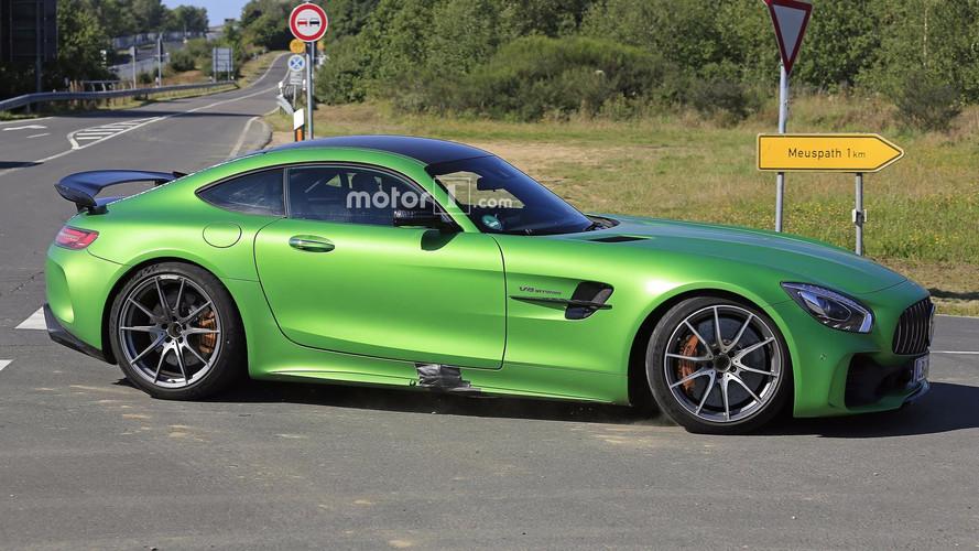 Daha ateşli Mercedes-AMG GT R, Nürburgring'de antrenman yapıyor