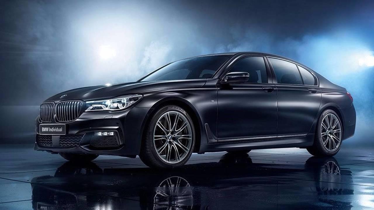 BMW Série 7 Black Ice