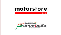 Motorstore.com and Sahara Force India partnership