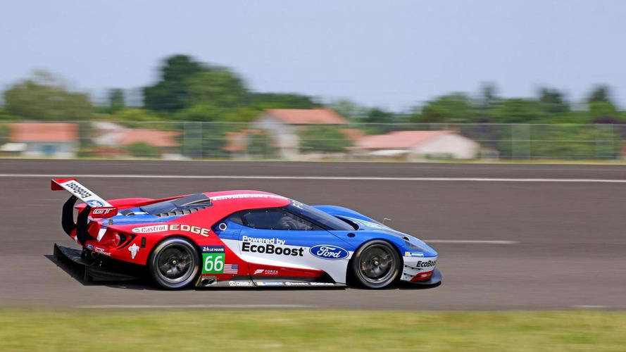 Ford GT race schedule revealed
