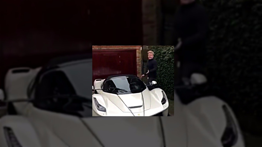 Gordon Ramsay nous présente sa Ferrari LaFerrari Aperta