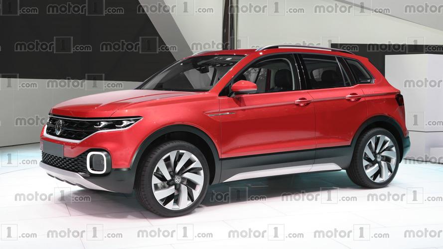 Yeni Polo temelli crossover böyle görünebilir