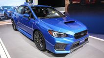 2018 Subaru WRX and STI: Detroit 2017