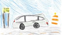 2018 Honda Odyssey Sketches