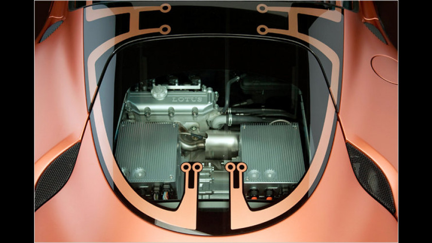 Lotus stellt Hybridmodell des Evora vor