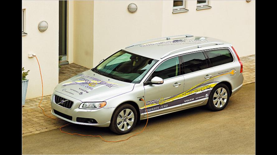 Volvo will bis 2012 Plug-in-Dieselhybride entwickeln