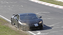Lamborghini Huracan runs out of fuel on Nurburgring spy photo