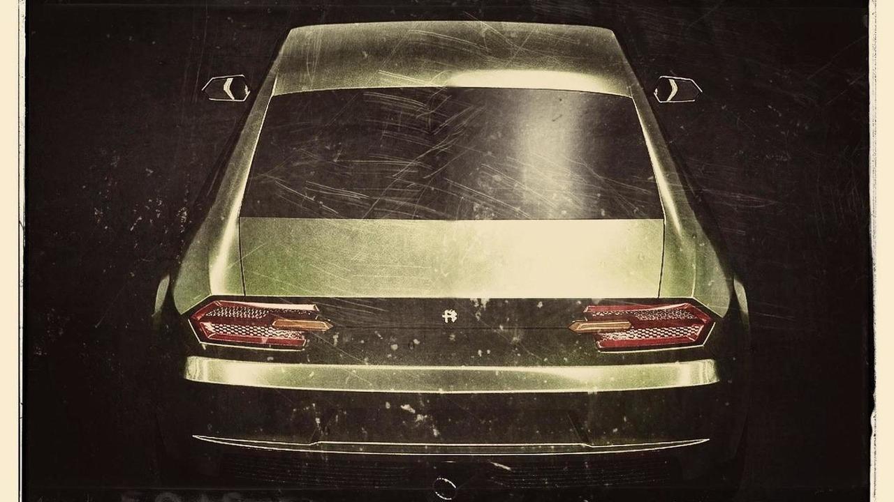 2016 Alfa Romeo Giulia rendered with retro tweaks | Motor1.com Photos