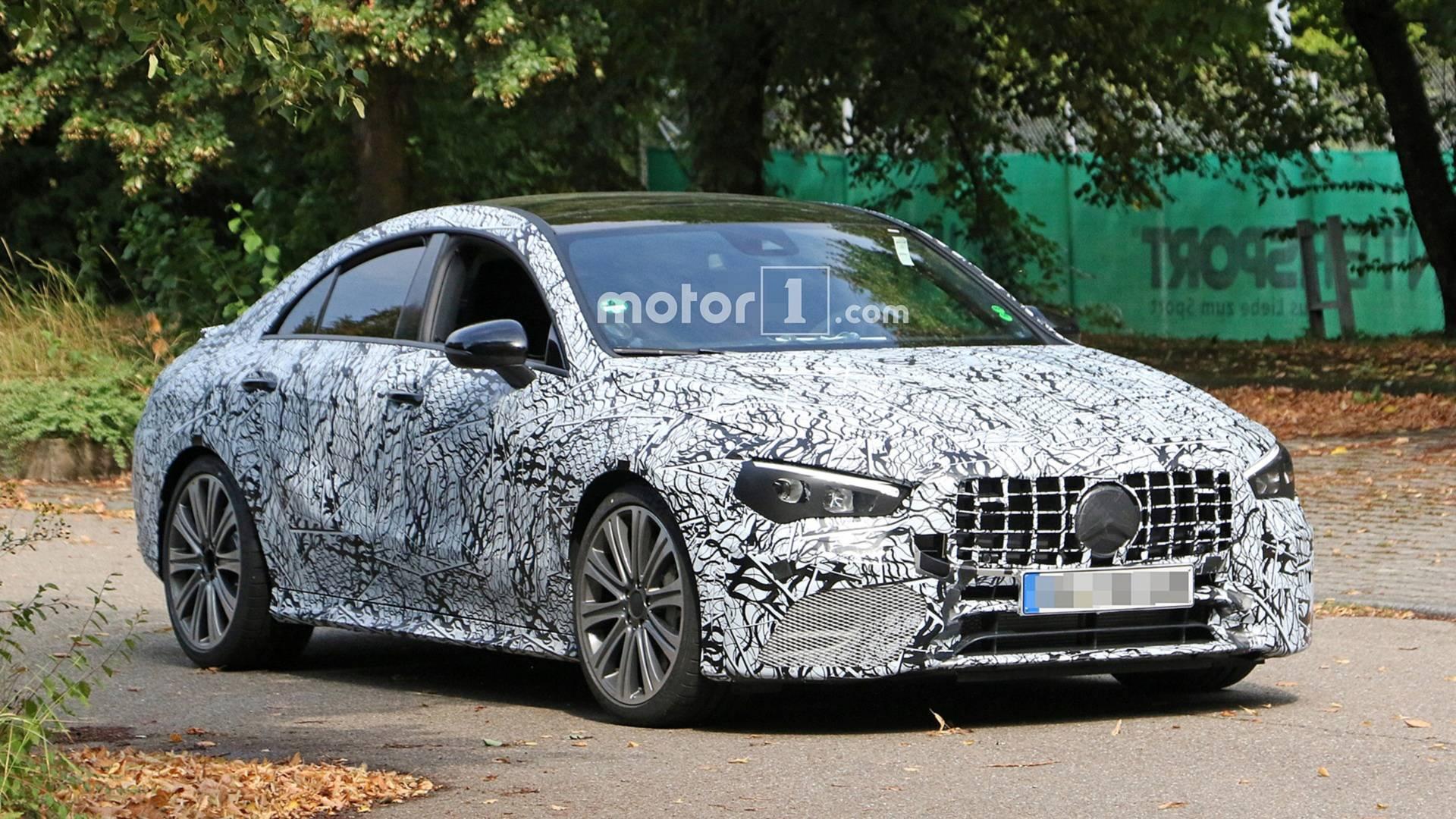2019 - [Mercedes-Benz] CLA II - Page 2 Mercedes-amg-cla-45-spy-shots