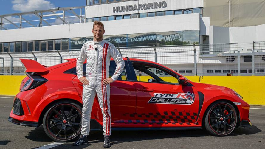 Watch As Button Steers Civic Type R To Hungaroring Lap Record