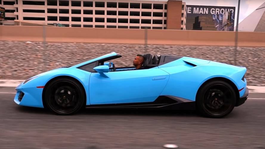 Lamborghini Huracan oil change