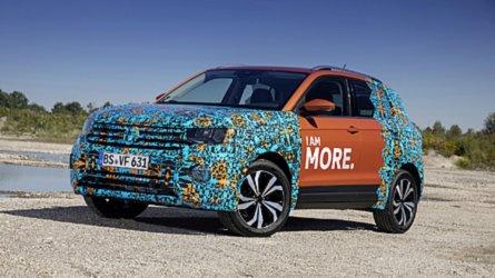 VW T-Cross Shows Off Voluminous Cargo Area In Latest Teaser