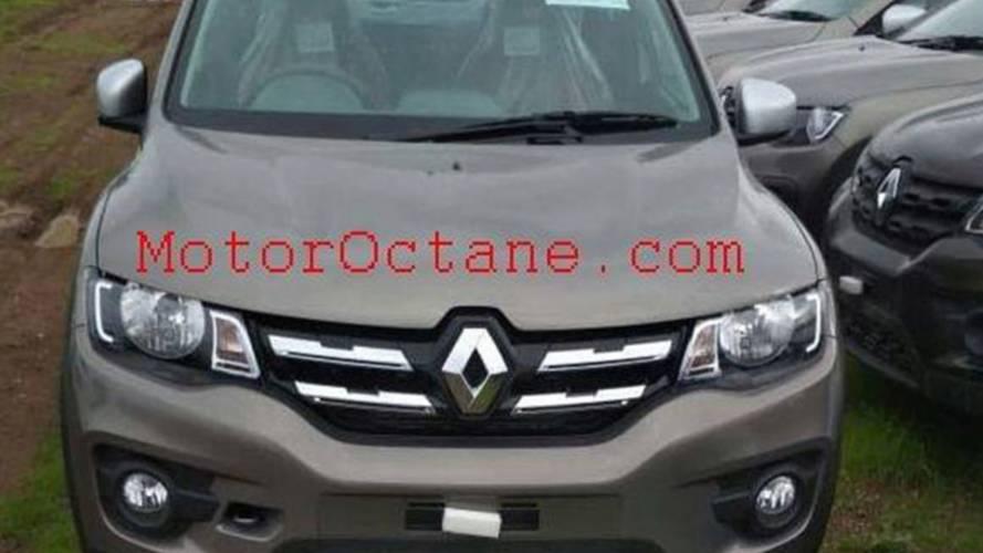 Flagra: Renault Kwid reestilizado está pronto
