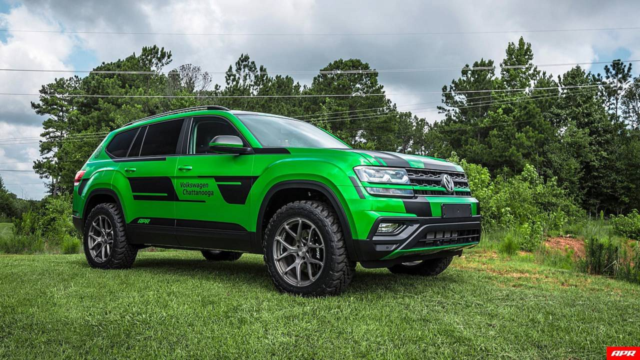 Tuner Transforms VW Atlas Into Lifted 350-HP Performance SUV