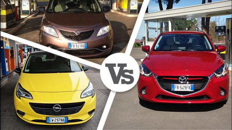 Mazda2 Diesel, consumi record, concorrenza battuta