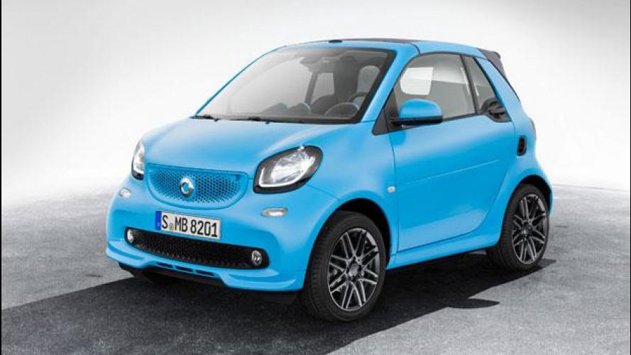 smart fortwo cabrio Brabus edition, la pepata