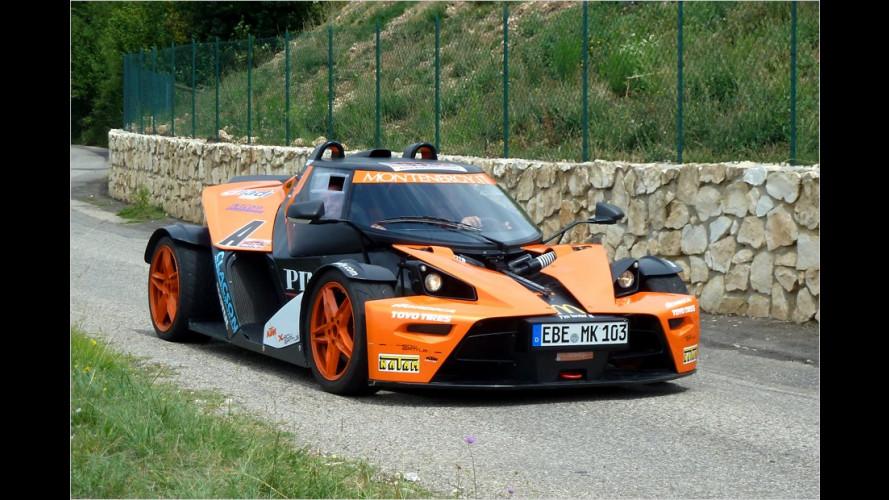 Spektakulär verwandelt: KTM XBow als Lancia Stratos