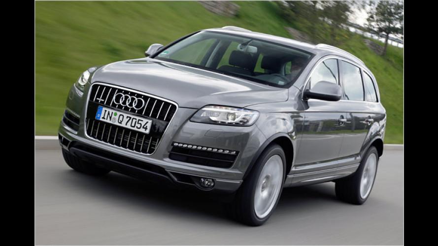 Audi putzt den Q7: Feinschliff für Optik und Antriebe