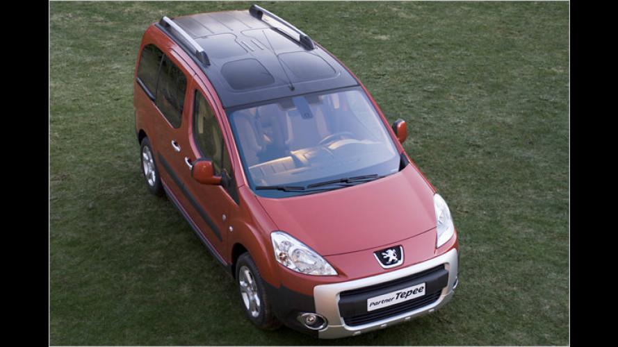 Peugeot gibt die Preise für den neuen Partner bekannt