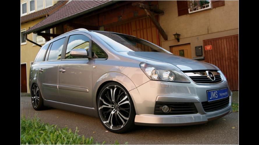 JMS Opel Zafira: Kleines Tuning für den Familienwagen