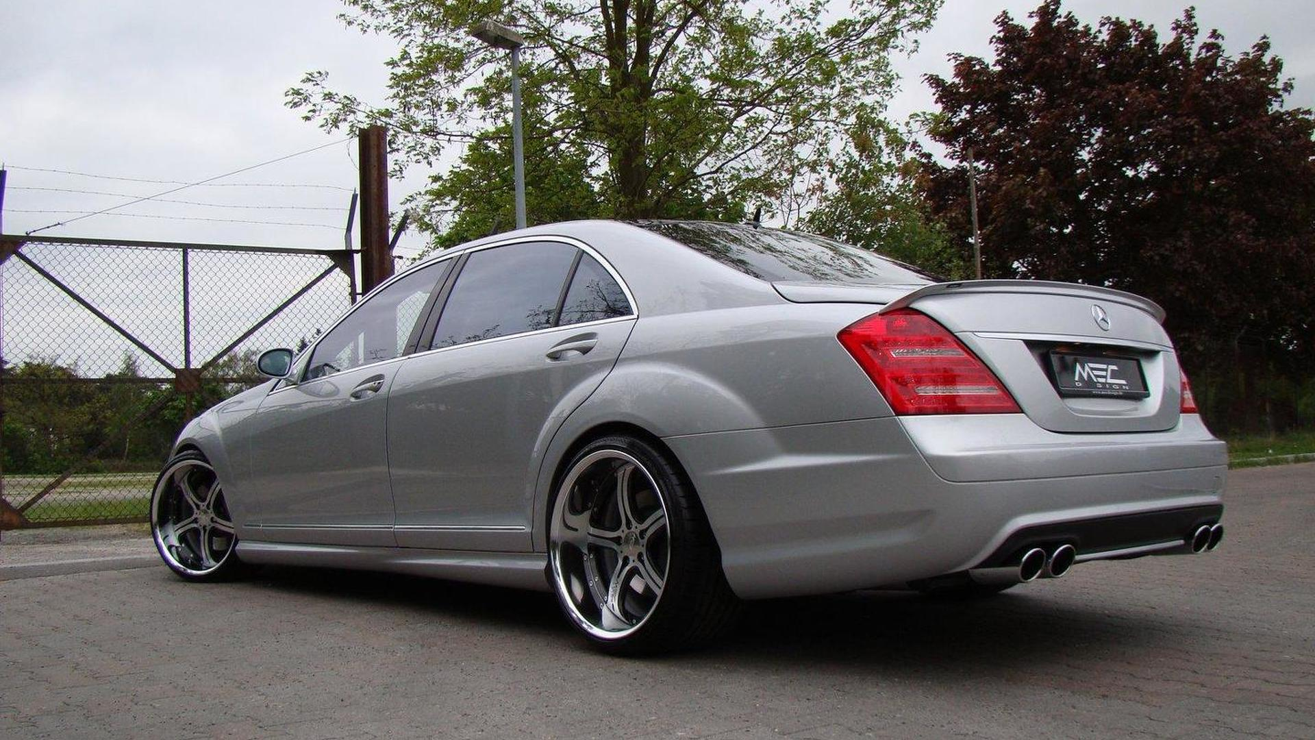 MEC Design gives S65 AMG makeover to pre facelift S Class plus