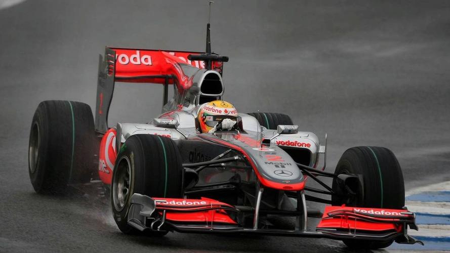Jerez test results cloud 2010 pecking order